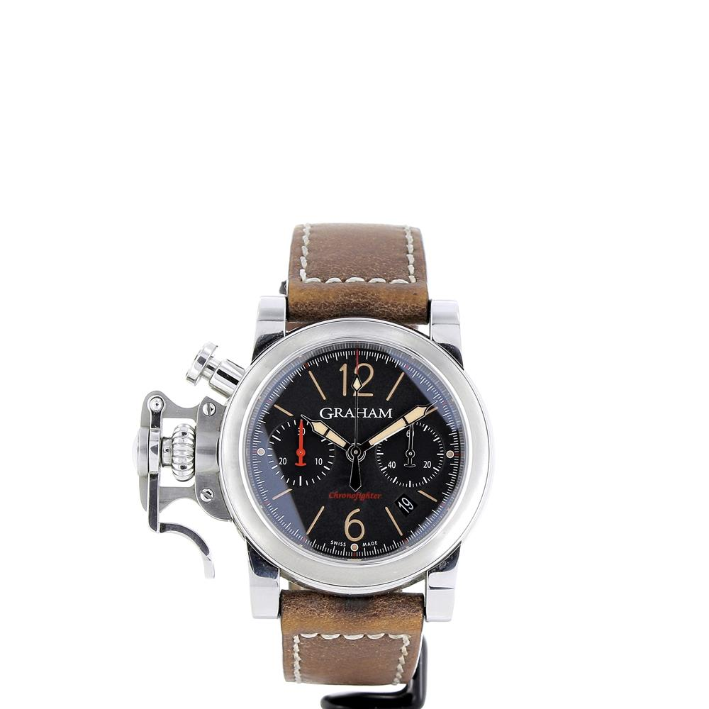 montre graham london chronofighter fortres d 39 occasion. Black Bedroom Furniture Sets. Home Design Ideas