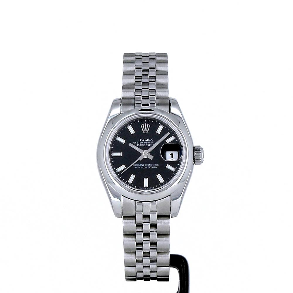 montre rolex oyster perpetual lady datejust 26mm d 39 occasion. Black Bedroom Furniture Sets. Home Design Ideas