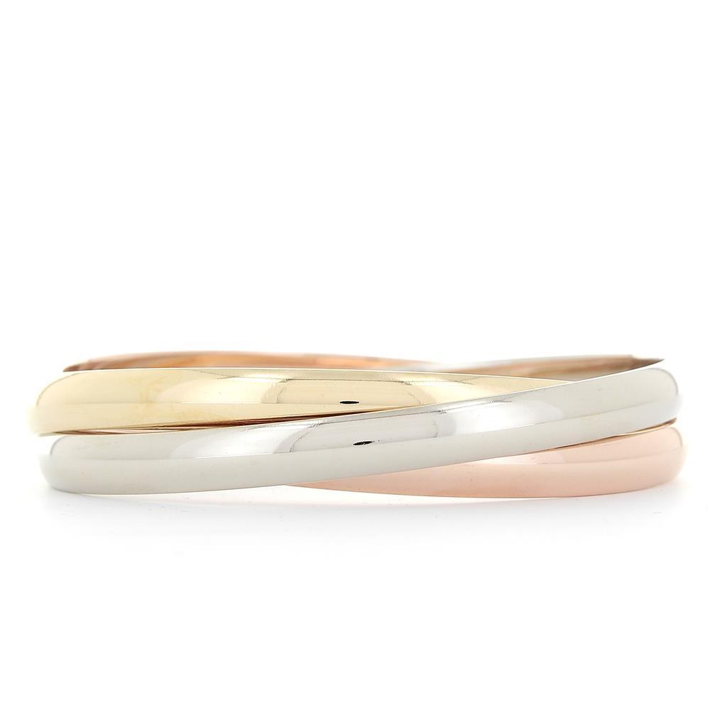 Bracelet Cartier Jonc Trinity classique 3 ors d'occasion
