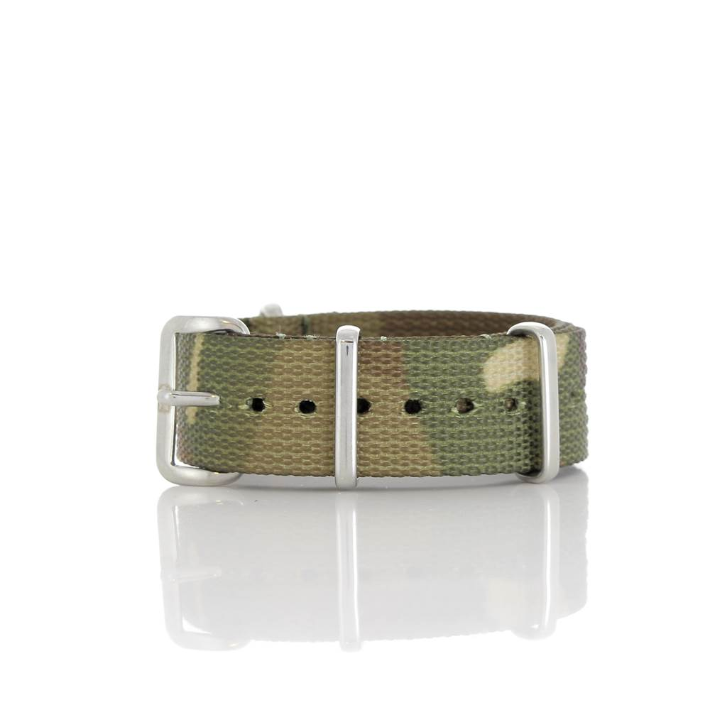 Bracelet Nato camouflage 18mm