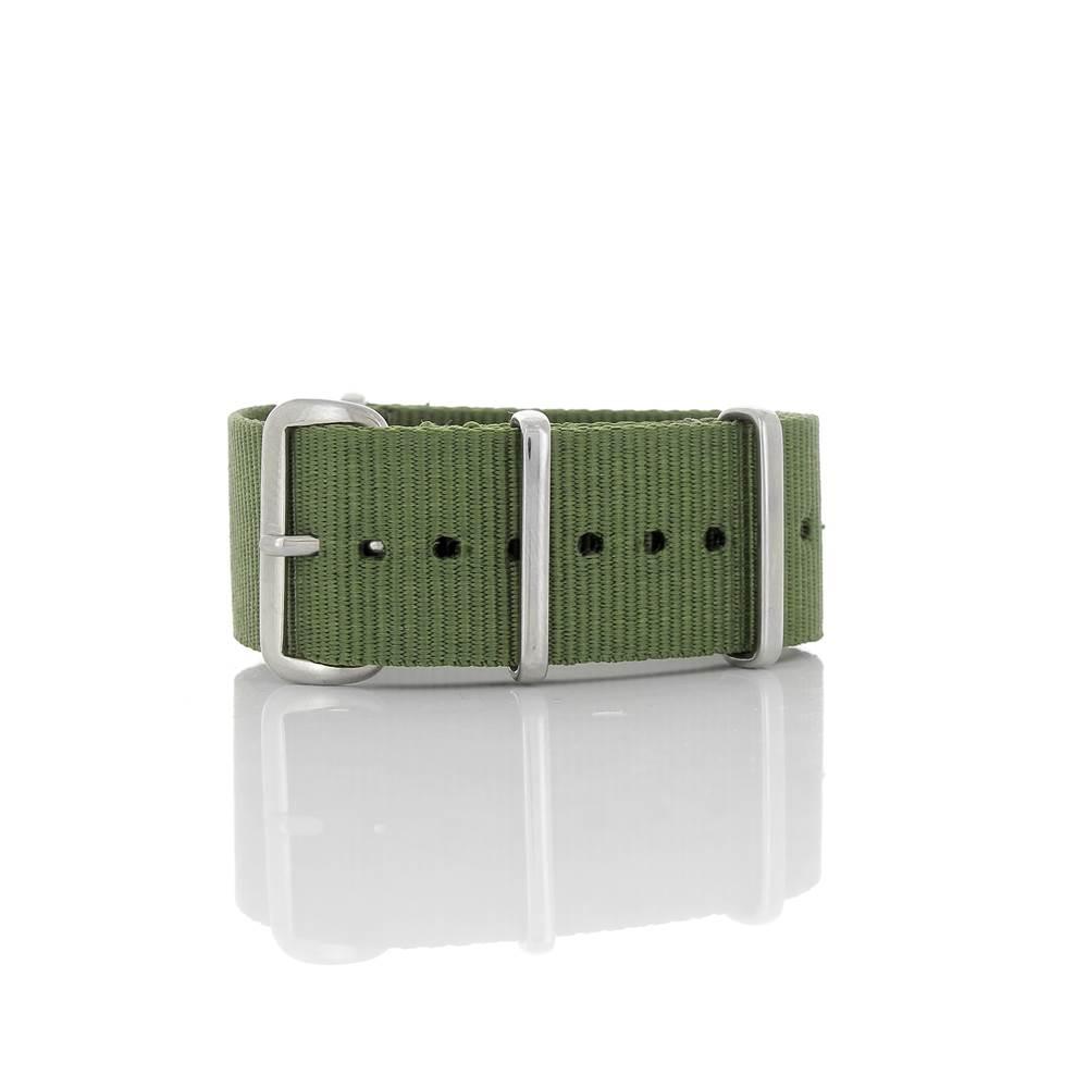 Bracelet Nato kaki 22mm