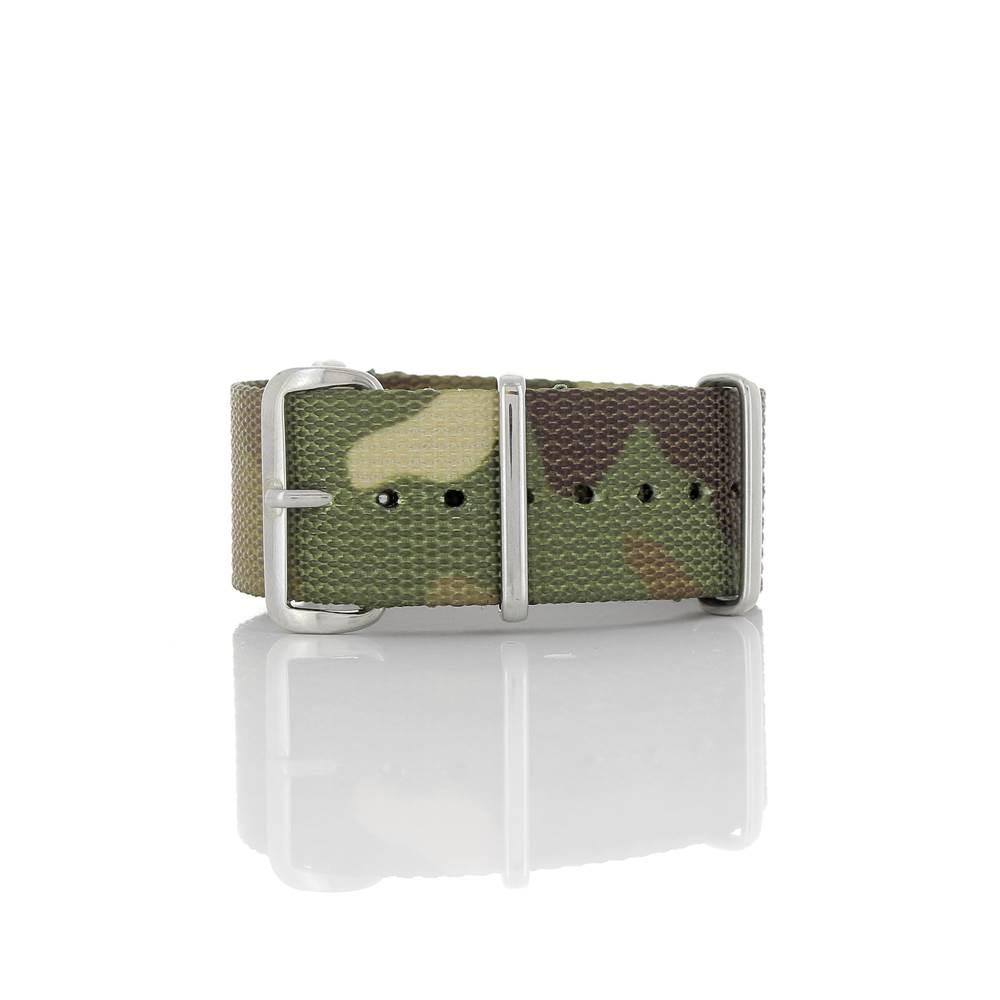 Bracelet Nato camouflage 22mm