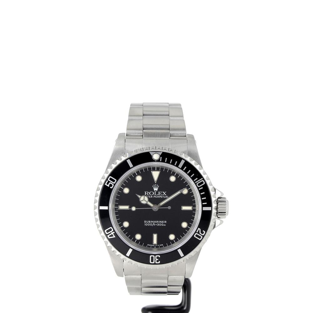 montre rolex submariner 14060 tritium d 39 occasion. Black Bedroom Furniture Sets. Home Design Ideas