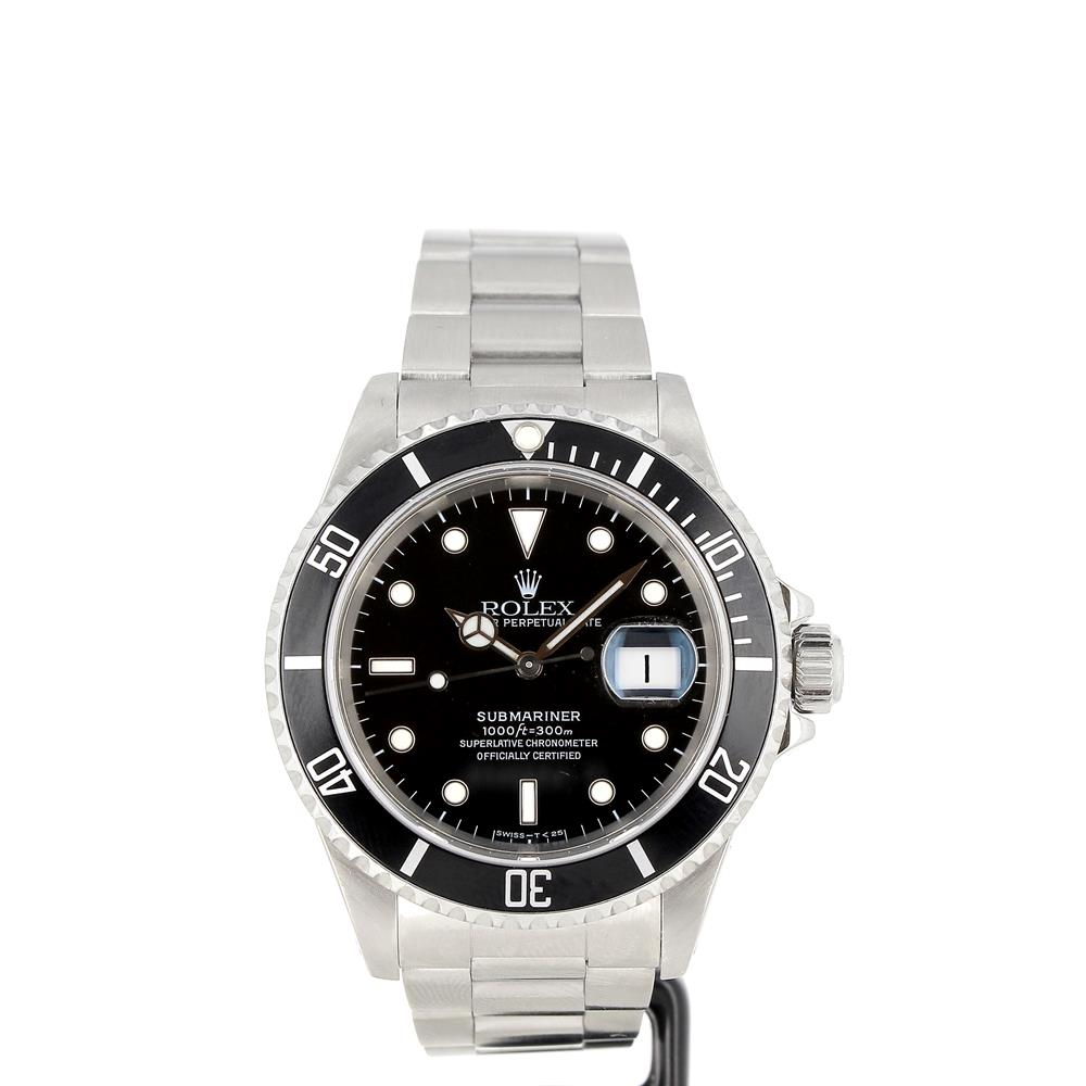 montre rolex submariner date 16610 tritium d 39 occasion. Black Bedroom Furniture Sets. Home Design Ideas