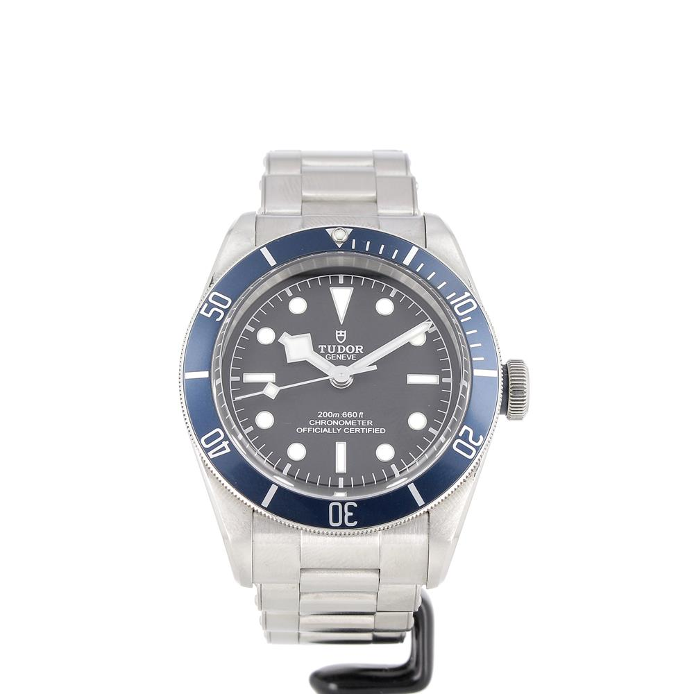 Montre Tudor Black Bay Heritage blue reference M79230B-0001 d'occasion