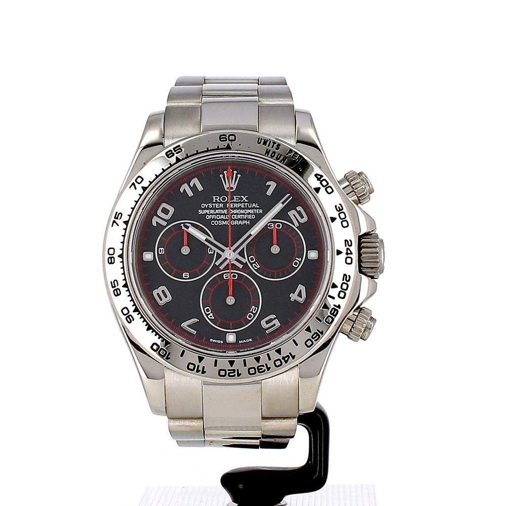 montre rolex oyster perpetual cosmograph daytona 116509 d 39 occasion. Black Bedroom Furniture Sets. Home Design Ideas