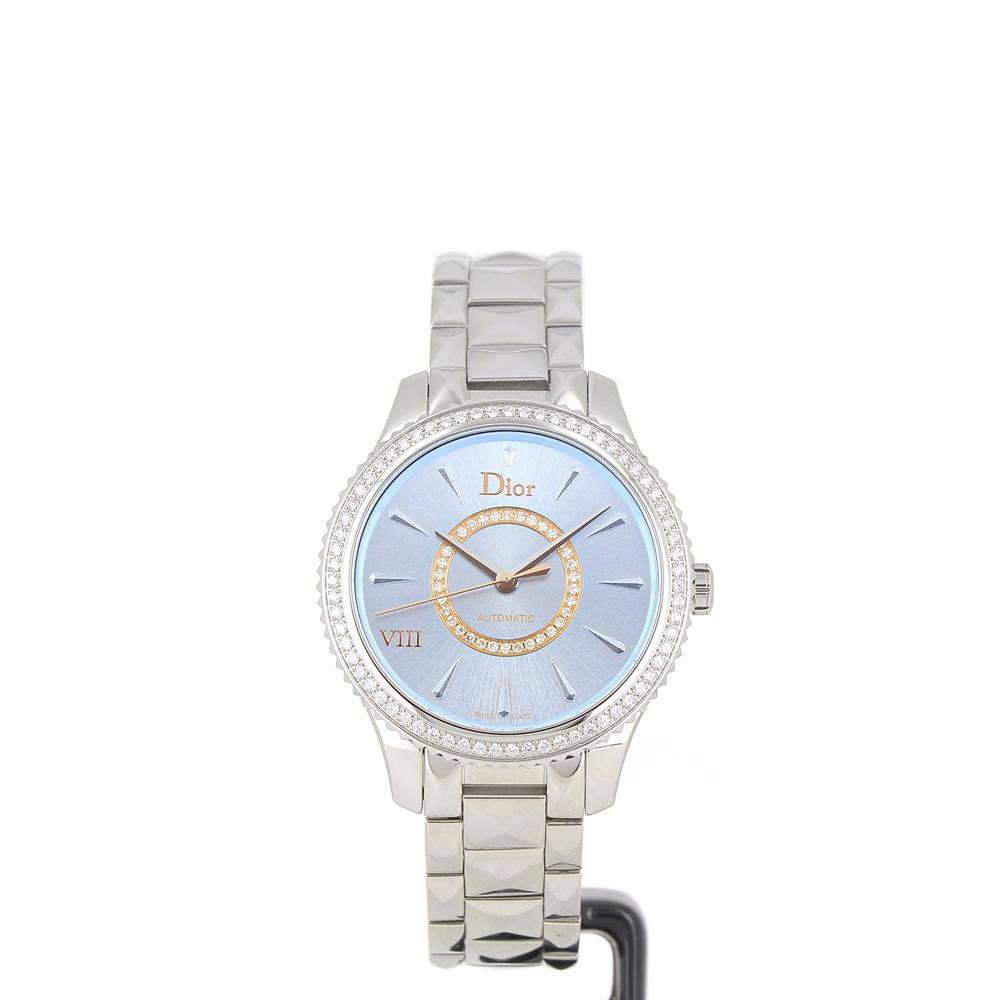 e2b0f0d224b Montre Dior VIII Montaigne bleu CD152510M001 neuve a prix d occasion