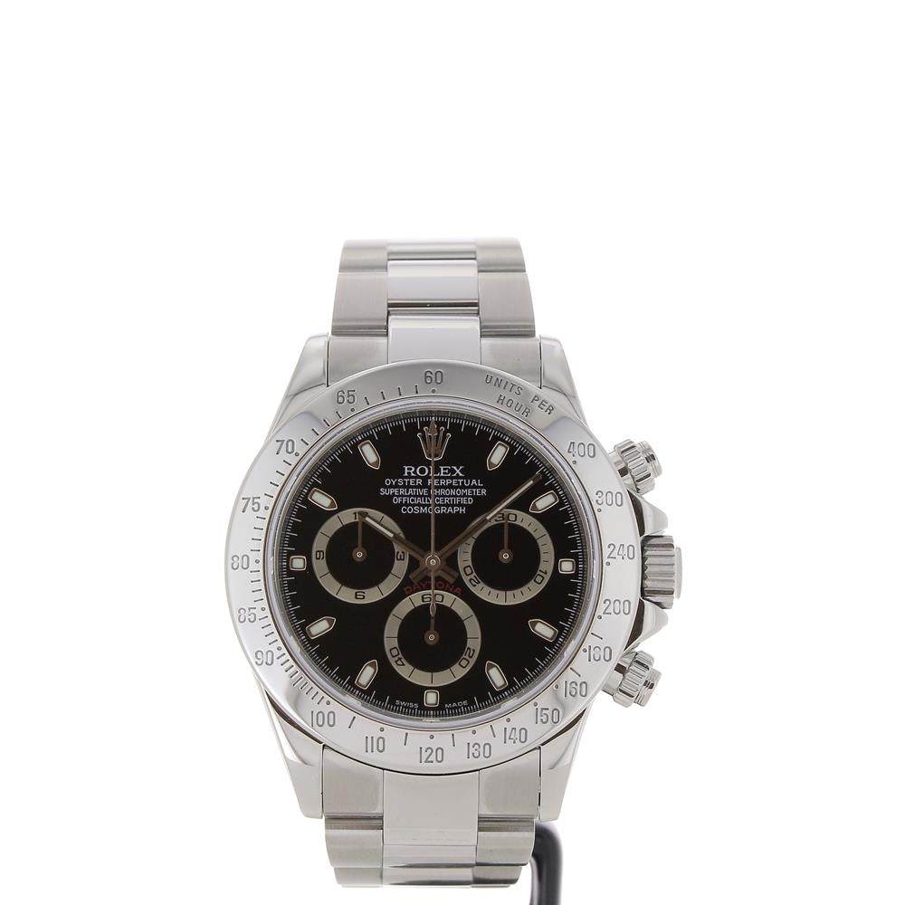 montre rolex oyster perpetual cosmograph daytona 116520 d. Black Bedroom Furniture Sets. Home Design Ideas