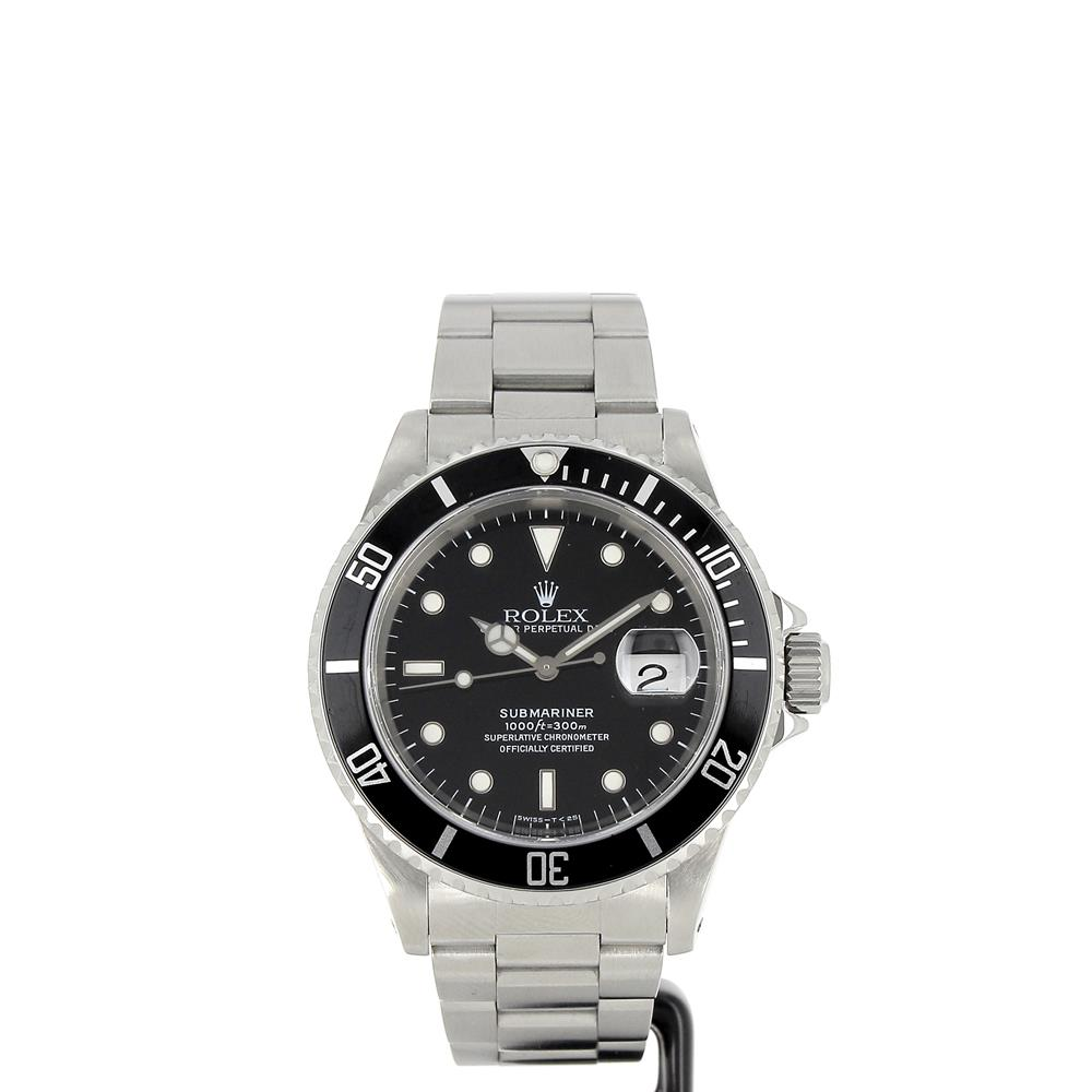 montre rolex submariner 16610 tritium d 39 occasion. Black Bedroom Furniture Sets. Home Design Ideas